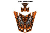 Can-Am-Spyder-RS-GS-Hood-Graphics-Kit-Bolt-Thrower-Orange
