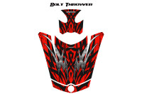 Can-Am-Spyder-RS-GS-Hood-Graphics-Kit-Bolt-Thrower-Red