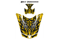 Can-Am-Spyder-RS-GS-Hood-Graphics-Kit-Bolt-Thrower-Yellow