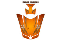 Can-Am-Spyder-RS-GS-Hood-Graphics-Kit-Cold-Fusion-Orange
