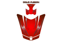Can-Am-Spyder-RS-GS-Hood-Graphics-Kit-Cold-Fusion-Red