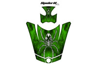 Can-Am-Spyder-RS-GS-Hood-Graphics-Kit-SpiderX-XL-Green