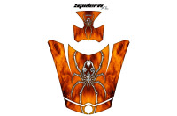 Can-Am-Spyder-RS-GS-Hood-Graphics-Kit-SpiderX-XL-Orange