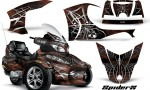 Can Am Spyder RT S Full Trim SpiderX Brown 150x90 - Can-Am Spyder RTS 2010-2013 Graphics with Trim Kit