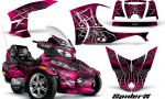 Can Am Spyder RT S Full Trim SpiderX Pink 150x90 - Can-Am Spyder RTS 2010-2013 Graphics with Trim Kit