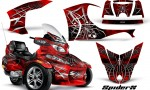 Can Am Spyder RT S Full Trim SpiderX Red 150x90 - Can-Am Spyder RTS 2010-2013 Graphics with Trim Kit