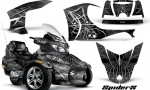 Can Am Spyder RT S Full Trim SpiderX Silver 150x90 - Can-Am Spyder RTS 2010-2013 Graphics with Trim Kit