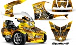 Can Am Spyder RT S Full Trim SpiderX Yellow 150x90 - Can-Am Spyder RTS 2010-2013 Graphics with Trim Kit