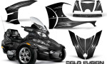 Can Am Spyder RT S Full Trim Cold Fusion Black 150x90 - Can-Am Spyder RTS 2010-2013 Graphics with Trim Kit