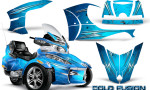 Can Am Spyder RT S Full Trim Cold Fusion BlueIce 150x90 - Can-Am Spyder RTS 2010-2013 Graphics with Trim Kit