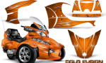 Can Am Spyder RT S Full Trim Cold Fusion Orange 150x90 - Can-Am Spyder RTS 2010-2013 Graphics with Trim Kit