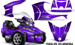 Can Am Spyder RT S Full Trim Cold Fusion Purple 150x90 - Can-Am Spyder RTS 2010-2013 Graphics with Trim Kit