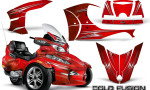 Can Am Spyder RT S Full Trim Cold Fusion Red 150x90 - Can-Am Spyder RTS 2010-2013 Graphics with Trim Kit