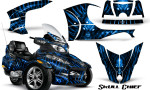 Can Am Spyder RT S Full Trim Skull Chief Blue 150x90 - Can-Am Spyder RTS 2010-2013 Graphics with Trim Kit