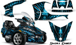 Can Am Spyder RT S Full Trim Skull Chief BlueIce 150x90 - Can-Am Spyder RTS 2010-2013 Graphics with Trim Kit