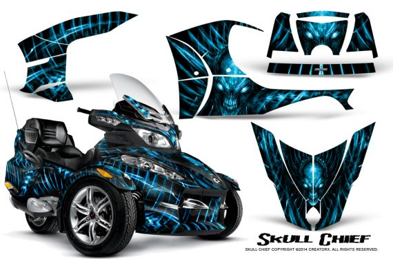 Can-Am_Spyder_RT-S_Full_Trim_Skull_Chief_BlueIce