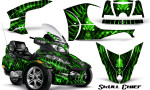 Can Am Spyder RT S Full Trim Skull Chief Green 150x90 - Can-Am Spyder RTS 2010-2013 Graphics with Trim Kit