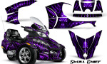 Can Am Spyder RT S Full Trim Skull Chief Purple 150x90 - Can-Am Spyder RTS 2010-2013 Graphics with Trim Kit