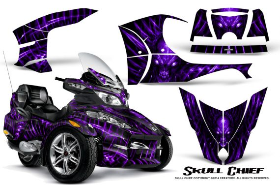 Can-Am_Spyder_RT-S_Full_Trim_Skull_Chief_Purple