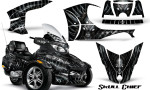 Can Am Spyder RT S Full Trim Skull Chief Silver 150x90 - Can-Am Spyder RTS 2010-2013 Graphics with Trim Kit