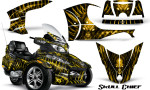 Can Am Spyder RT S Full Trim Skull Chief Yellow 150x90 - Can-Am Spyder RTS 2010-2013 Graphics with Trim Kit