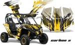 Can am Canam Maverick AMR Graphics Kit Wrap CarbonX Y 150x90 - Can-Am BRP Maverick 1000 X rs 1000r 2013-2015 Graphics