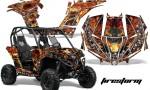 Can am Canam Maverick AMR Graphics Kit Wrap Firestorm K 150x90 - Can-Am BRP Maverick 1000 X rs 1000r 2013-2015 Graphics