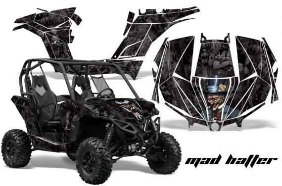 Can am Canam Maverick AMR Graphics Kit Wrap MadHatter KK 570x376 - Can-Am BRP Maverick 1000 X rs 1000r 2013-2015 Graphics