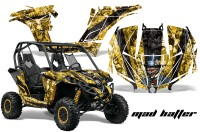 Can-am-Canam-Maverick-AMR-Graphics-Kit-Wrap-MadHatter-KY-