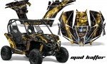 Can am Canam Maverick AMR Graphics Kit Wrap MadHatter YK 150x90 - Can-Am BRP Maverick 1000 X rs 1000r 2013-2015 Graphics