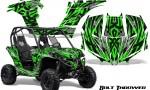 Can am Maverick CreatorX Graphics Kit Bolt Thrower Green 150x90 - Can-Am BRP Maverick 1000 X rs 1000r 2013-2015 Graphics