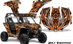 Can am Maverick CreatorX Graphics Kit Bolt Thrower Orange 150x90 - Can-Am BRP Maverick 1000 X rs 1000r 2013-2015 Graphics