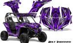 Can am Maverick CreatorX Graphics Kit Bolt Thrower Purple 150x90 - Can-Am BRP Maverick 1000 X rs 1000r 2013-2015 Graphics