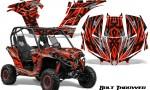 Can am Maverick CreatorX Graphics Kit Bolt Thrower Red 150x90 - Can-Am BRP Maverick 1000 X rs 1000r 2013-2015 Graphics