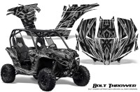 Can-am-Maverick-CreatorX-Graphics-Kit-Bolt-Thrower-Silver