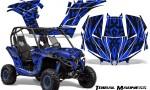 Can am Maverick CreatorX Graphics Kit Tribal Madness Blue 150x90 - Can-Am BRP Maverick 1000 X rs 1000r 2013-2015 Graphics