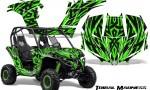 Can am Maverick CreatorX Graphics Kit Tribal Madness Green 150x90 - Can-Am BRP Maverick 1000 X rs 1000r 2013-2015 Graphics