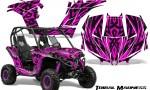 Can am Maverick CreatorX Graphics Kit Tribal Madness Pink 150x90 - Can-Am BRP Maverick 1000 X rs 1000r 2013-2015 Graphics