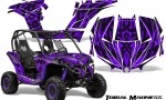 Can am Maverick CreatorX Graphics Kit Tribal Madness Purple 150x90 - Can-Am BRP Maverick 1000 X rs 1000r 2013-2015 Graphics
