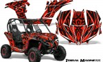 Can am Maverick CreatorX Graphics Kit Tribal Madness Red 150x90 - Can-Am BRP Maverick 1000 X rs 1000r 2013-2015 Graphics