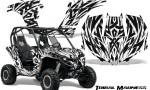 Can am Maverick CreatorX Graphics Kit Tribal Madness White 150x90 - Can-Am BRP Maverick 1000 X rs 1000r 2013-2015 Graphics