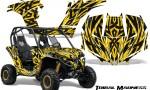 Can am Maverick CreatorX Graphics Kit Tribal Madness Yellow 150x90 - Can-Am BRP Maverick 1000 X rs 1000r 2013-2015 Graphics