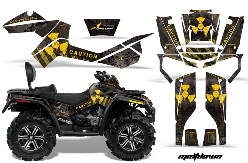 CanAm-Outlander-Max-AMR-Graphic-Kit-MELTDOWN--YELLOW-BLACKbg