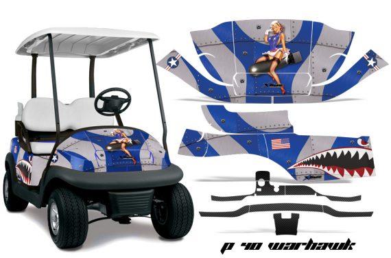 Club Car Precedent i2 AMR Graphics Kit Wrap P40 U 570x376 - Club Car Precedent I2 2008-2013 Golf Cart Graphics