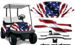 Club Car Precedent i2 AMR Graphics Kit Wrap SS 150x90 - Club Car Precedent I2 2008-2013 Golf Cart Graphics