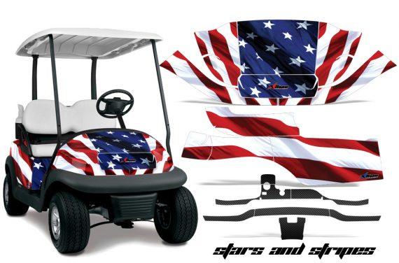 Club Car Precedent i2 AMR Graphics Kit Wrap SS 570x376 - Club Car Precedent I2 2008-2013 Golf Cart Graphics