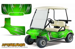 Club Car CreatorX Graphics Kit Afterburner Green 320x211 - Club Car 1983-2014 Golf Cart Graphics