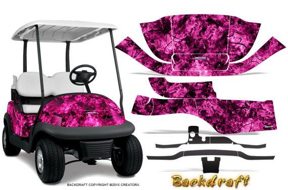 Club_Car_Precedent_i2_Graphics_Kit_Backdraft_Pink