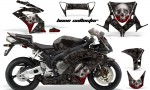 HONDA CBR 1000RR 04 05 AMR Graphics Kit Bone Collector BLK 150x90 - Honda CBR 1000RR 2004-2005 Graphics