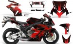 HONDA CBR 1000RR 04 05 AMR Graphics Kit CARB X Red 150x90 - Honda CBR 1000RR 2004-2005 Graphics